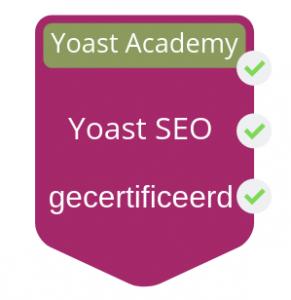 yoast certificaat drendabel